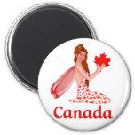 Duendecillo canadiense imanes de nevera
