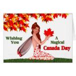 Duendecillo del día de Canadá Felicitación