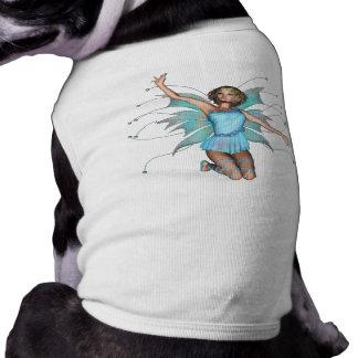 Duendecillo del pixel - color del tono medio 3D Camiseta De Perro