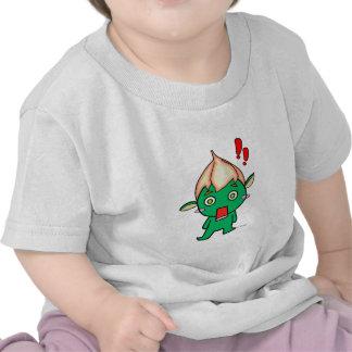 Duendecillo flor en la cabeza tee shirt