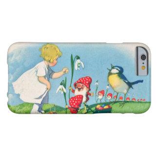 Duendes del gnomo de Pascua Lilly del chica que Funda Barely There iPhone 6