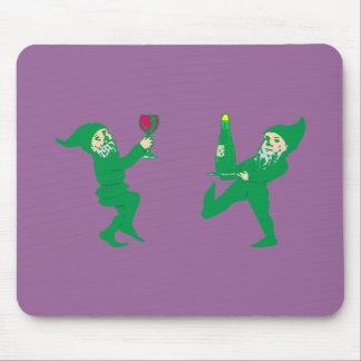 Duendes Gnome imps goblins gnomes Alfombrilla De Raton