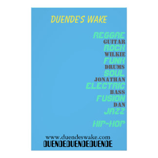 Duende's Wake Poster