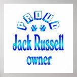 Dueño de Jack Russell Poster
