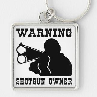 Dueño de la escopeta llaveros personalizados