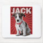 Dueño del mascota de Jack Russell Terrier Tapete De Raton