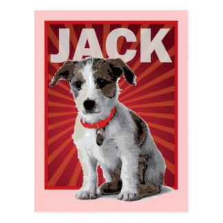 Dueño del mascota de Jack Russell Terrier Postales
