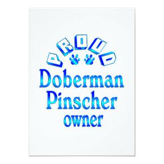 Dueño del Pinscher del Doberman Comunicado Personal