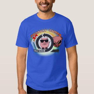 Dueño del producto - melé ágil - pollos y cerdos camisas