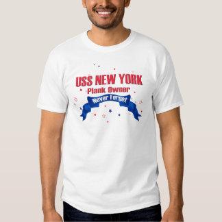 Dueño del tablón de USS Nueva York Remeras