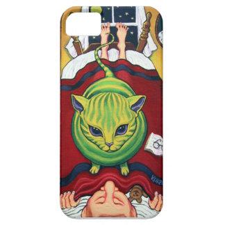 ¿Dueño extranjero de la abducción o del gato? iPhone 5 Protector