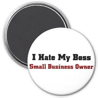 Dueño-Odio de la pequeña empresa mi jefe Imán Redondo 7 Cm