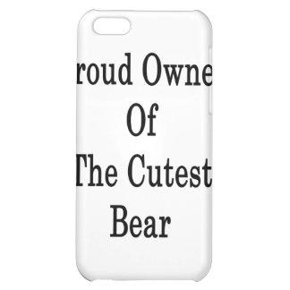 Dueño orgulloso del oso más lindo