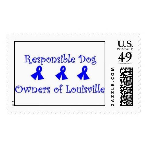 Dueños responsables del perro de Louisville Sello