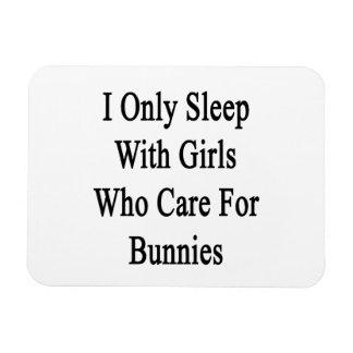 Duermo solamente con los chicas que cuidan para lo imán rectangular