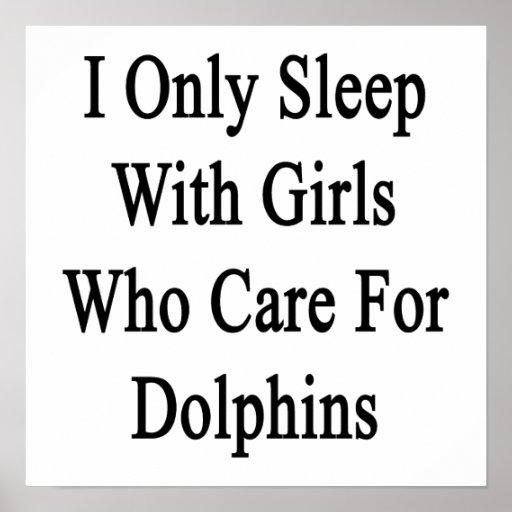 Duermo solamente con los chicas que cuidan para lo poster