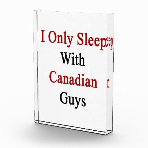 Duermo solamente con los individuos canadienses