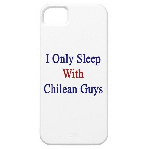 Duermo solamente con los individuos chilenos iPhone 5 Case-Mate carcasa