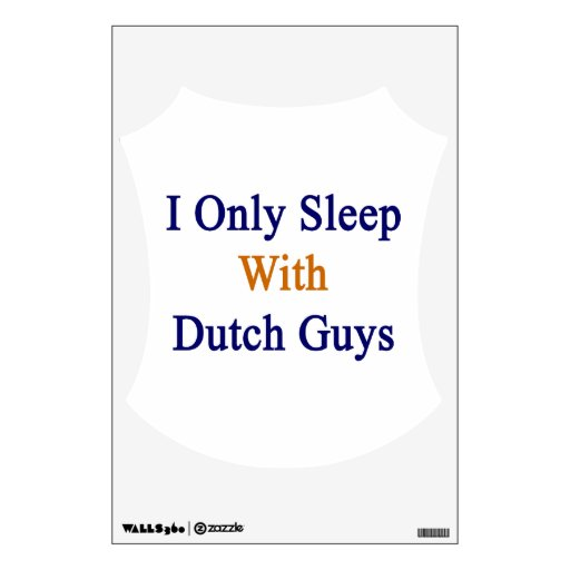 Duermo solamente con los individuos holandeses