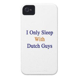 Duermo solamente con los individuos holandeses iPhone 4 Case-Mate carcasa