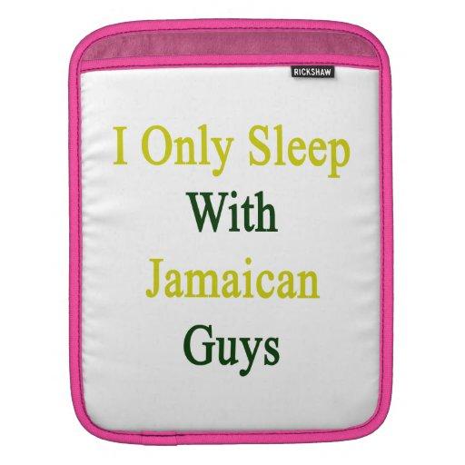 Duermo solamente con los individuos jamaicanos manga de iPad