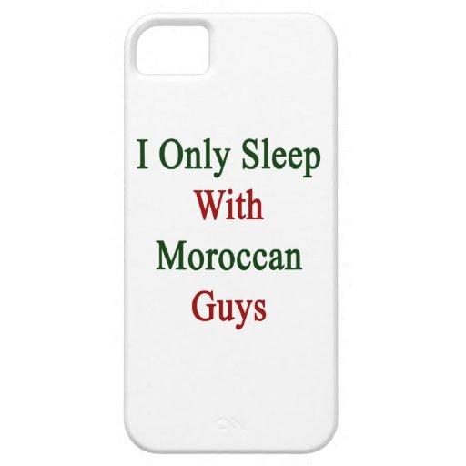 Duermo solamente con los individuos marroquíes iPhone 5 carcasa