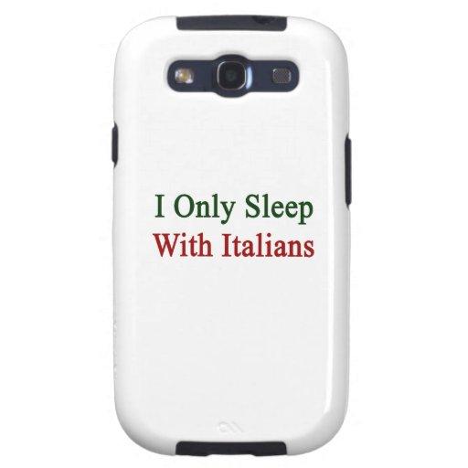 Duermo solamente con los italianos galaxy SIII carcasas
