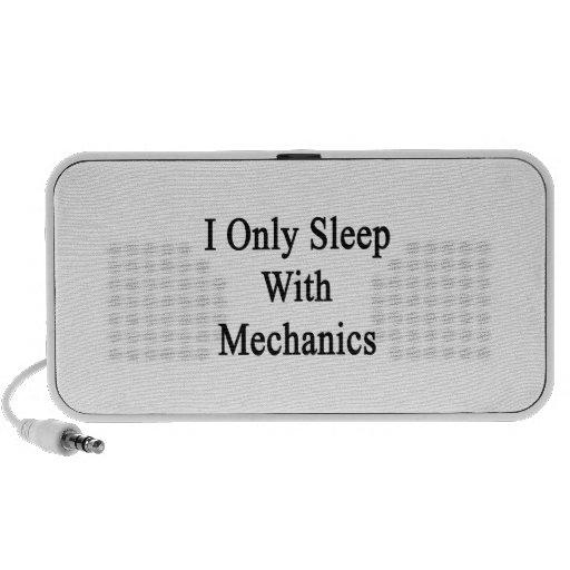 Duermo solamente con los mecánicos laptop altavoces