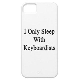 Duermo solamente con los teclistas iPhone 5 Case-Mate cárcasas