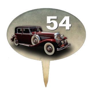 Duesenberg (Duesy) Model J Classic Car Cake Topper