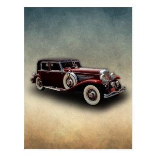 Duesenberg (Duesy) Model J Classic Car Postcards