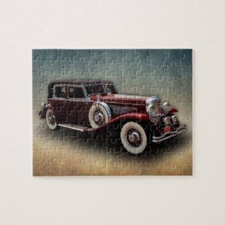 Duesenberg Duesy Model J Classic Car Jigsaw Puzzles