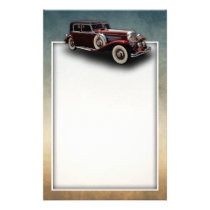 Duesenberg (Duesy) Model J Classic Car Stationery