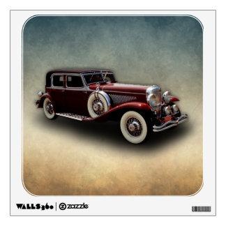 Duesenberg (Duesy) Model J Classic Car Wall Sticker