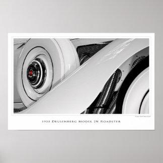Duesenberg Model JN Roadster - Poster