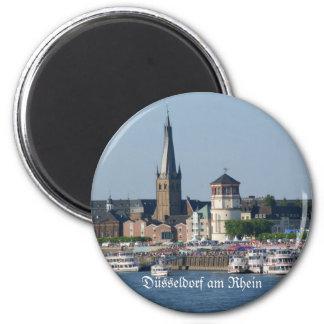 Duesseldorf 2 Inch Round Magnet