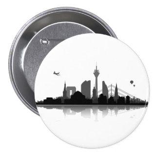 Duesseldorf button/Anstecker/pin Button