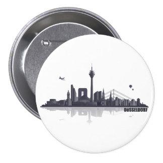 Duesseldorf button/Anstecker/pin Pinback Button
