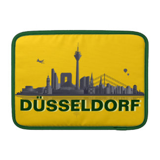 Duesseldorf town center of skyline iPad/MacBook ai MacBook Sleeves