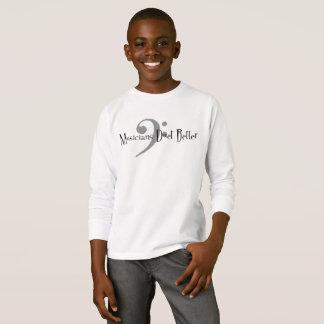Duet (Bass) Boy's Long Sleeve T-Shirt