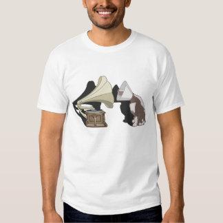 Duet - Dog & Gramophone T-Shirt
