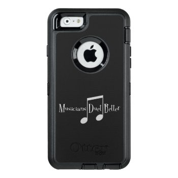 Duet (notes) Iphone & Samsung Otterbox Case by ArtivistMarketing at Zazzle