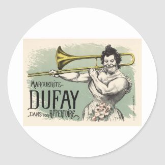 Dufay Hornblower Etiquetas Redondas