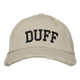 Duff Embroidered Hat