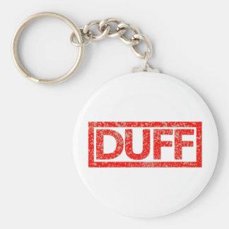 Duff Stamp Keychain