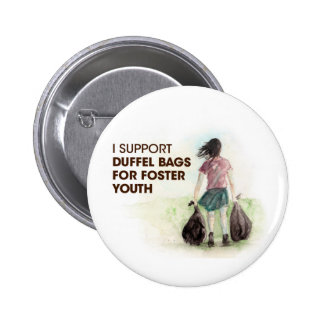 Duffel Bags for Foster Youth Buttons