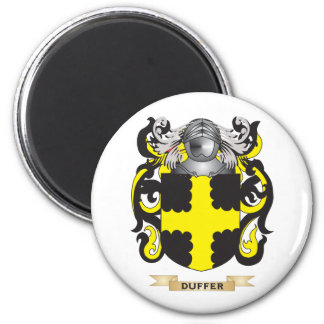 Duffer Coat of Arms 2 Inch Round Magnet