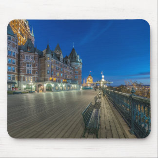 Dufferin Terrace at dawn Mouse Pad