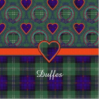 Duffes clan Plaid Scottish kilt tartan Cutout