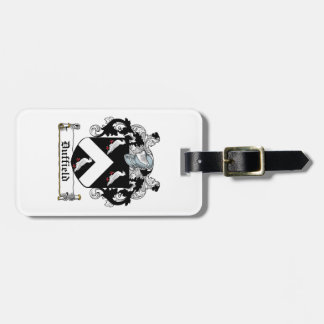 Duffield Family Crest Bag Tag